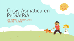 Crisis Asmática en PeDiAtRÃA