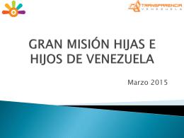 Evaluación de las 5 grandes misiones