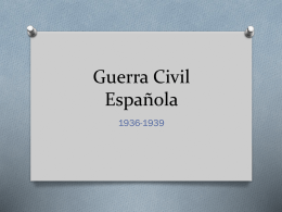 Guerra Civil Espanola - Scarsdale Union Free School District