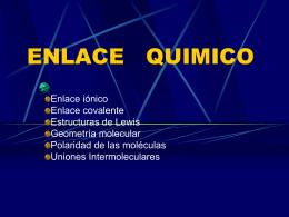 ENLACE QUIMICO.ppt - Colegio Marista La Inmaculada