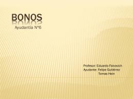 Ayudantia Numero 6 Bonos