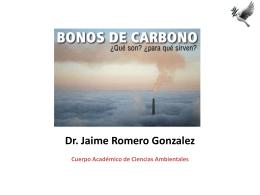 Bonos de carbono - J Romero - ambiental-uacj
