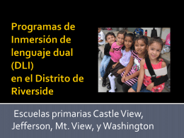 Dual Language Immersion Programs