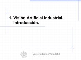 2. Presentacion PPT - vision artificial industrial