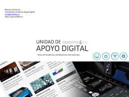 Unidad de Apoyo Digital - Facultad de Arquitectura y Urbanismo