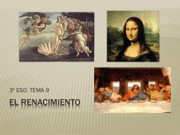 EL RENACIMIENTO - lenguayliteraturasoto