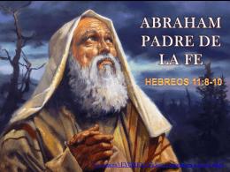 ABRAHAM PADRE DE LA FE
