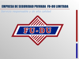 Descargar powerpoint - FU-DU