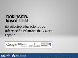 Presentación: Encuesta a los viajeros españoles Edición 2009