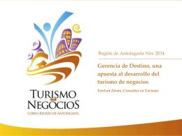Diapositiva 1 - PTI Turismo de Negocios