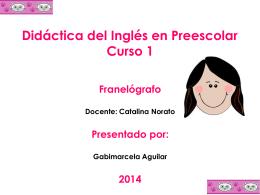 Materiales - Didáctica del Inglés en Educación Infantil (1)