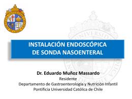 Instalación Endoscópica de Sonda Nasoenteral