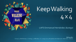 Keep Walking - Fraternidad Prominent Alumni