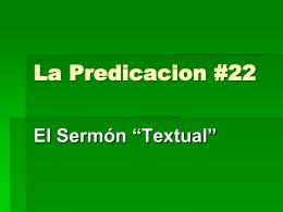 Predicación Textual
