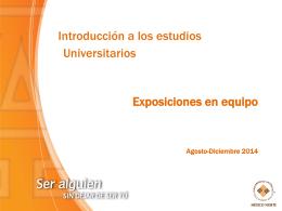 Expos IEU lum mier 2014