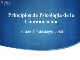 Orígenes de la Psicología social