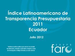 Proyecto: - Grupo FARO