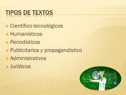 Textos humanísticos