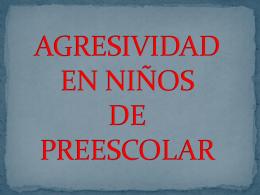 agresividad2 - Agresividad en niños de preescolar