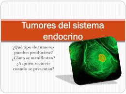 Tumores del sistema endocrino