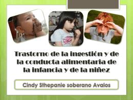 T. de alimentacion Cindy Soberano