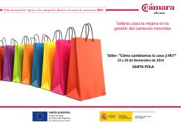 2014 - Cámara de comercio Alicante