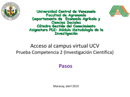 Guia Acceso al Campus Virtual UCV