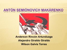 ANTÓN SEMIÓNOVICH MAKÁRENKO Anderson Rincón