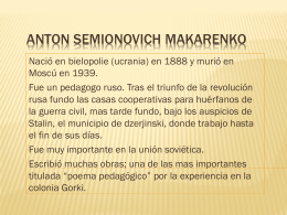 ANTON SEMIONOVICH MAKARENKO (191562)