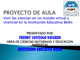 PROYECTO DE AULA, POWER POINT1