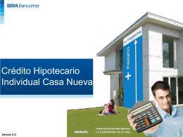 Anaquel Hipotecario BANCOMER W