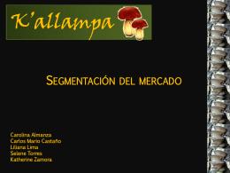 Presentación K`allampa