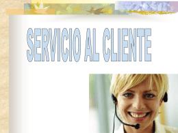 servicio al cliente ppt
