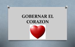gobernar el corazon