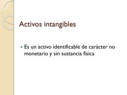 Activos intangibles Esta Norma revisada sustituye a la NIC 38