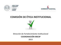 Ética Institucional