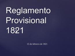 Constitucion de 1821