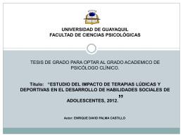 PresentaciónTesisEnriquePalmaCastilloClinica