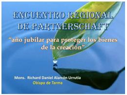 Ponencia del Mons. Richard Alarcón en Huanuco