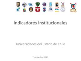 Indicadores prioritarios - Sistema de Gestión Institucional