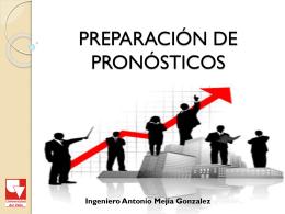 SESION 3. PREPARACION DE PRONOSTICOS