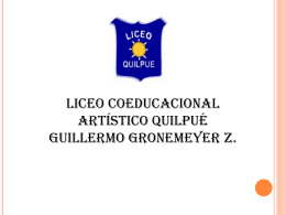 Material descargable - Liceo Artistico Guillermo Gronemeyer