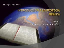Introduccion a la profecía bíblica