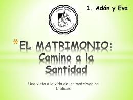 01 Adán y Eva - Pastoral Familiar Parroquia San Francisco