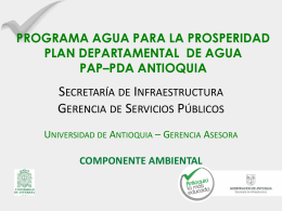 PAP-PDA Mínimos Ambientales