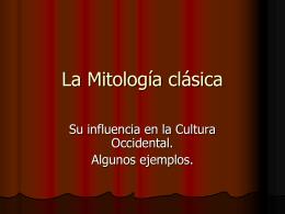 La Mitología clásica