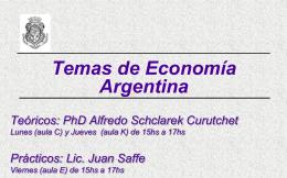 Planes y Reformas Economicas