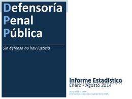 agosto 2014 - Defensoría Penal Pública
