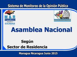 Diapositiva 1 - Asamblea Nacional de Nicaragua