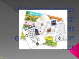 Herramientas para crear material educativo con tics
